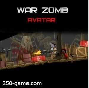 لعبة حرب الزومبي