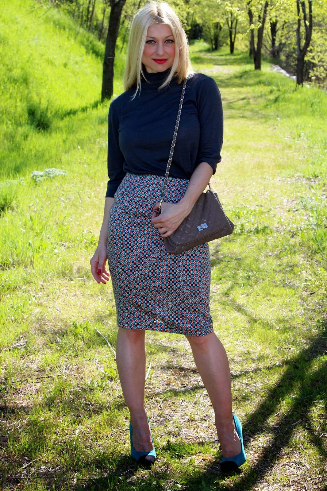 falda tubo/ pencil skirt