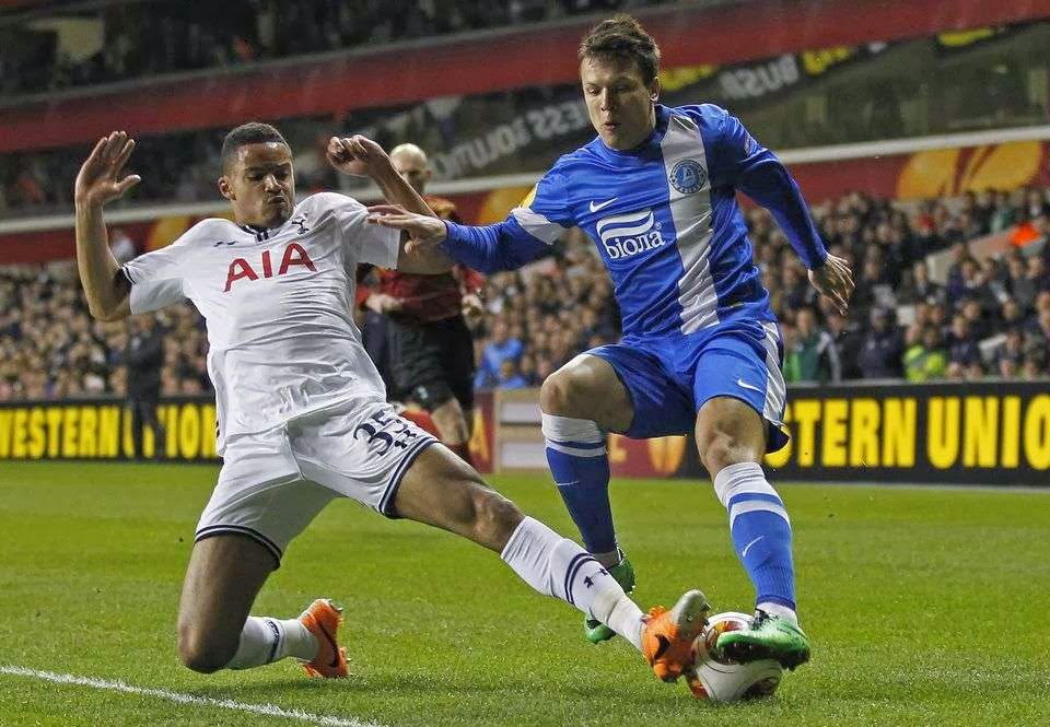 Zeki Fryers against Dnipro