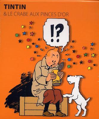 Tintin et le crabe aux pinces d'or - Hergé - Le livre Pop-up