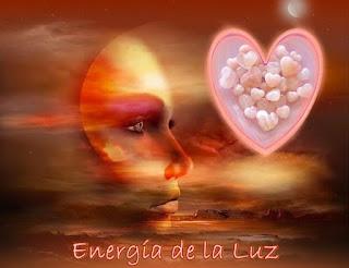 Querido, la Luz es Energía, fuiste creado a través de la Luz, tú eres Energía.
