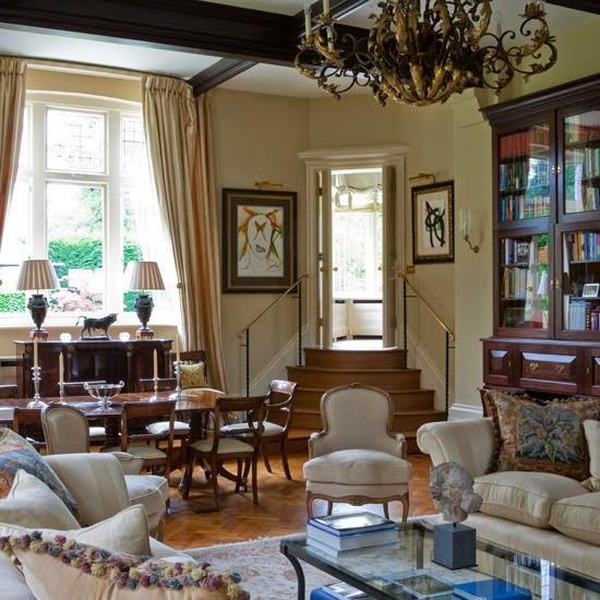 10 Dekorasi Ruang Tamu Terbuka yang Cantik dan Menarik