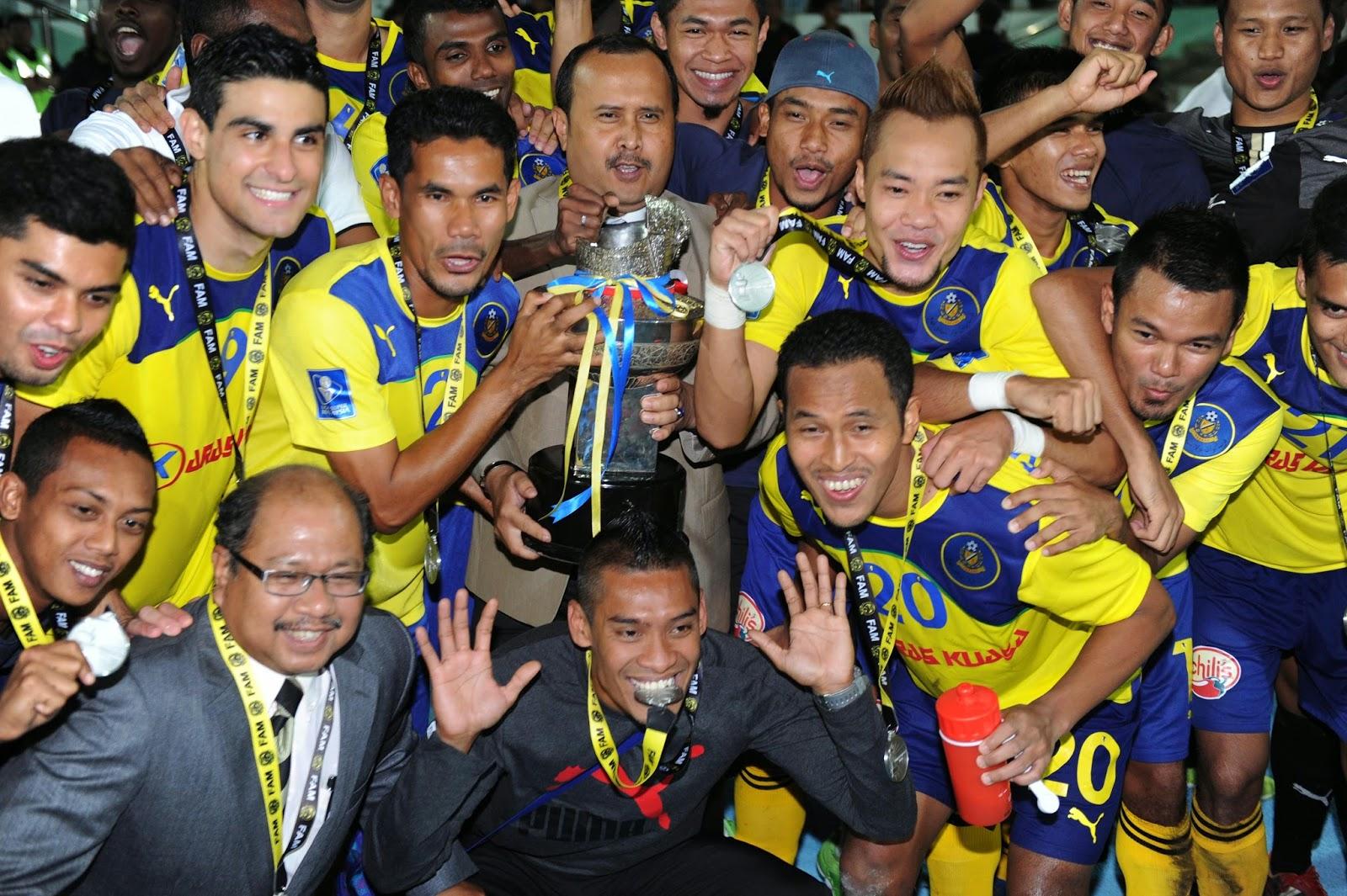 Pahang Juara Piala Sumbangsih 2014
