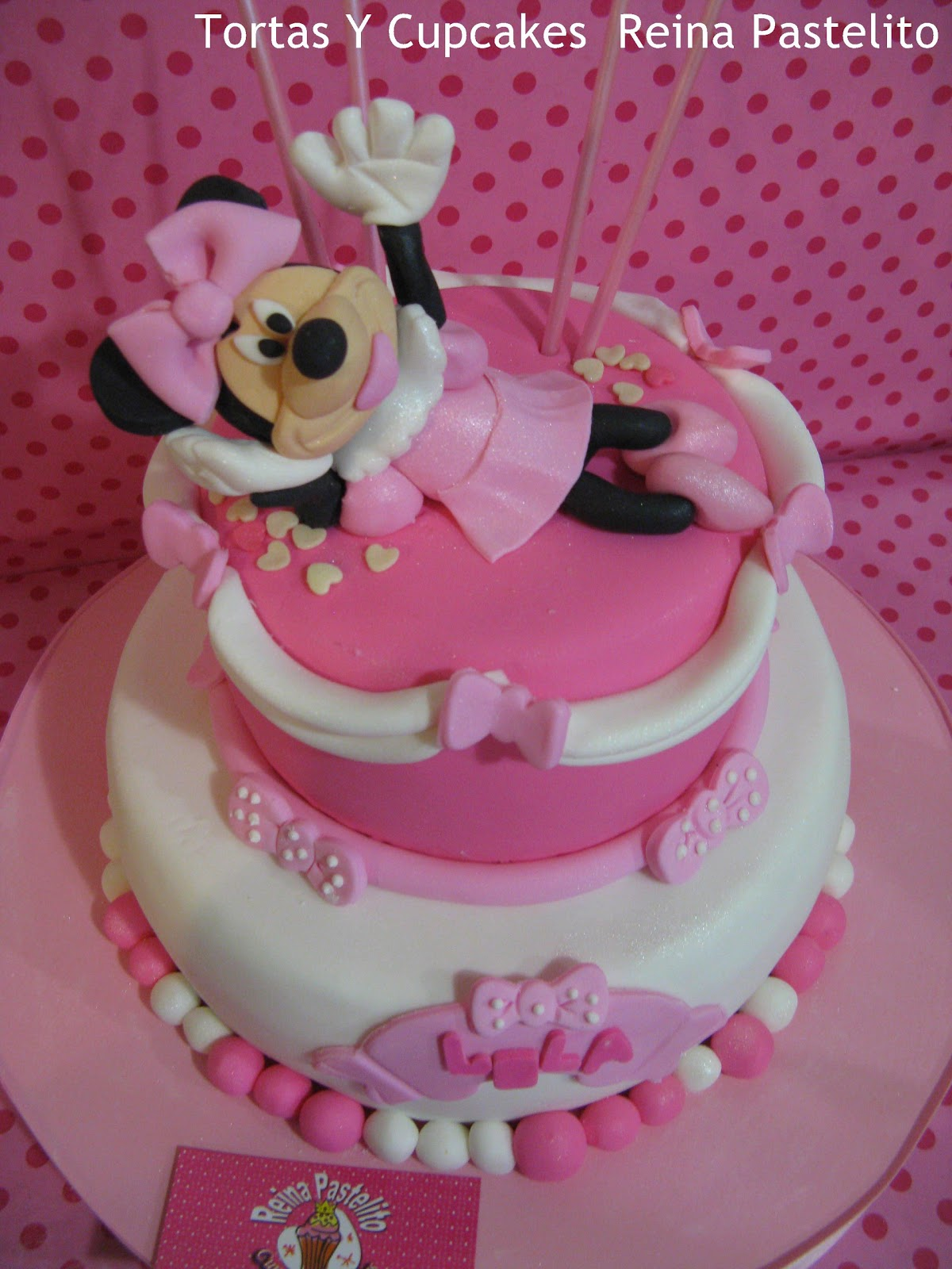 Torta Minnie Mouse Cupcakes Minnie Mouse