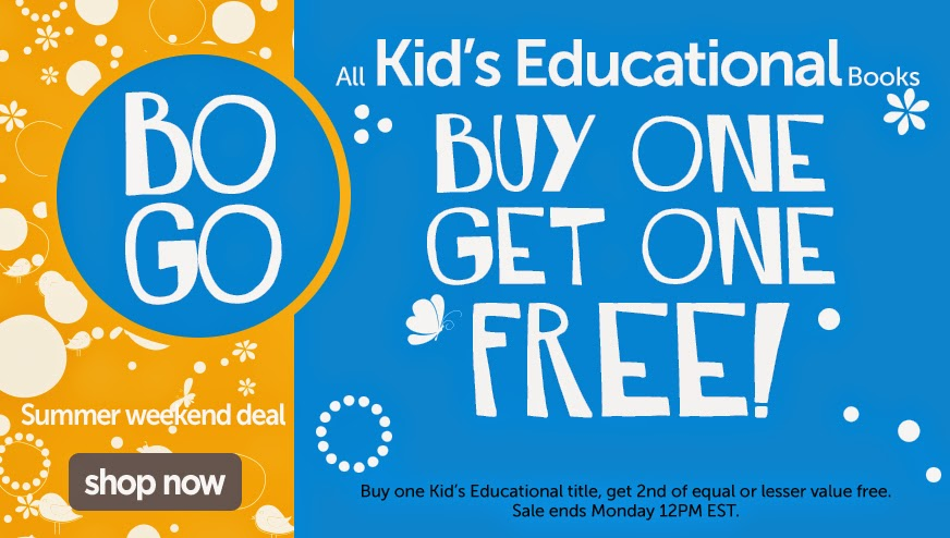 BOGO Kid's Educational Titles!