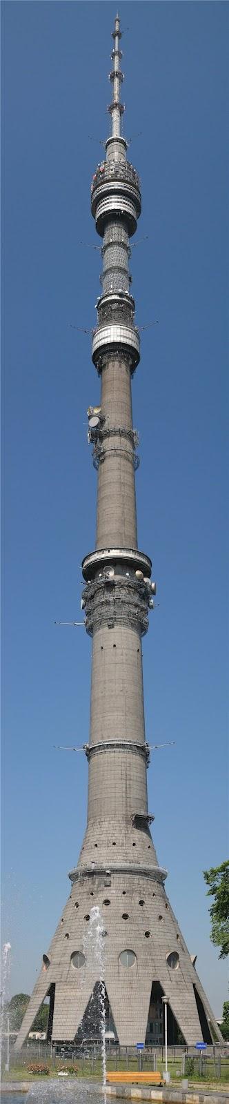 La torre Ostánkino: La torre de comunicaciones más alta de Europa