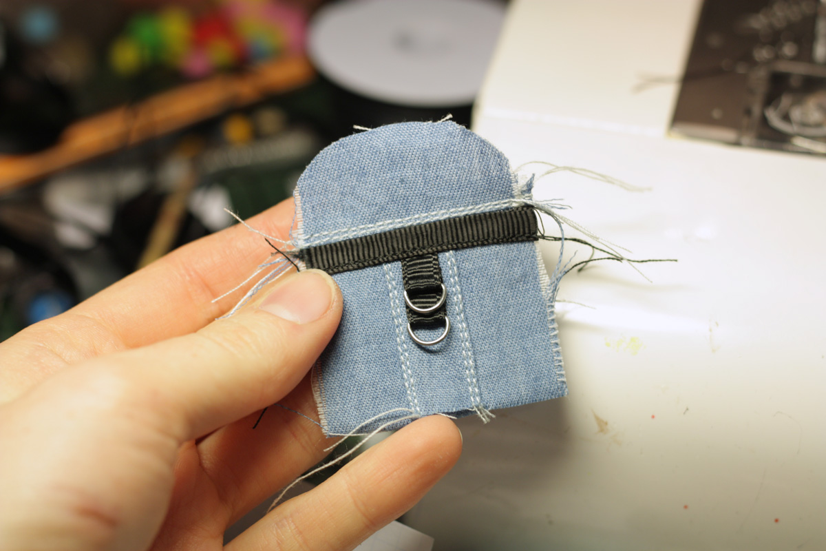 How to sew a doll backpack 1/6