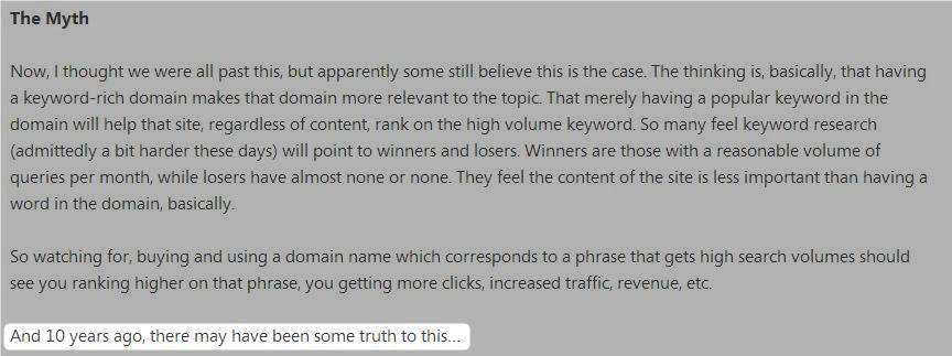 Kesalahan SEO Domain