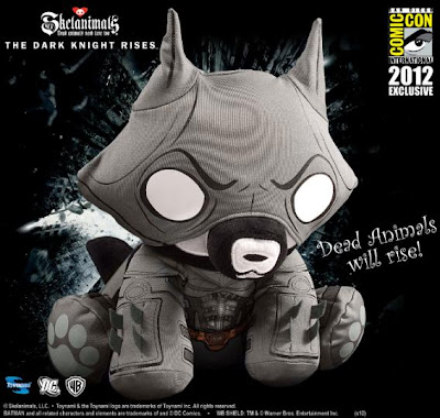 San Diego Comic-Con 2012 Exclusive DC Comics x Skelanimals The Dark Knight Rises Batman Jae Plush