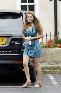 Kelly Brook Candids in Kent