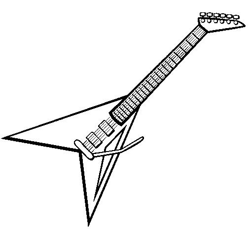 Blog MegaDiverso: Guitarras eléctricas para pintar y descargar