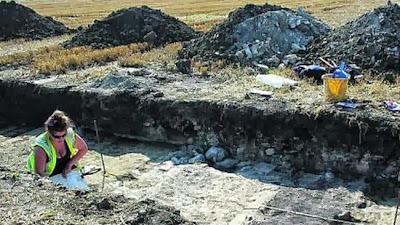 Remains of Roman villa found near Devizes