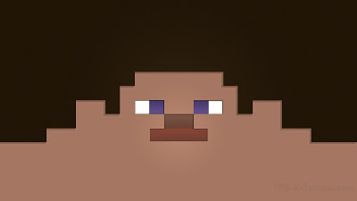 Steve Wither Minecraft desktop wallpaper