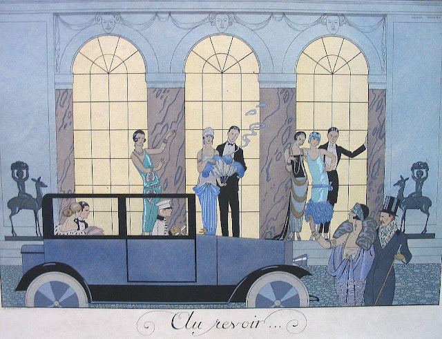 """Roaring twenties"" : lectures contemporaines George_Barbier_Au_Revoir_1024_35"