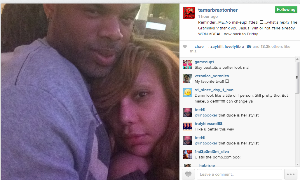 No Mercy For Your FAVES...: Tamar Braxton Claps Back!