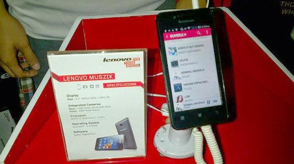 Lenovo Muszik A319, Spesifikasi Android Full Musik Harga 1 Jutaan