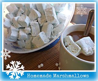 Homemade Marshmallows...