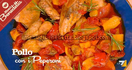 Pollo con i Peperoni di Benedetta Parodi
