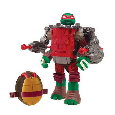TOYS : JUGUETES - LAS TORTUGAS NINJA : Mutations  Raphael with Ground Pounder Battle Shell | Figura - Muñeco  Teenage Mutant Ninja Turtles Mutations  Producto Oficial Serie Nickelodeon 2015 | Playmates 91844 | A partir de 4 años  Comprar en Amazon España & buy Amazon USA