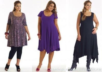 platie5 Мода для повних: секрети краси повних жінок, фото