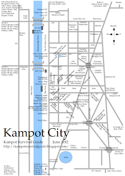 Kampot Map