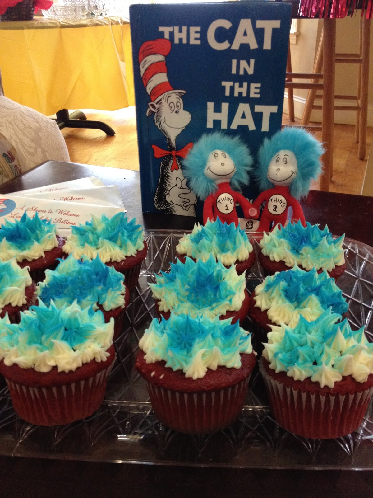 The Creative Core Dr Seuss Baby Shower