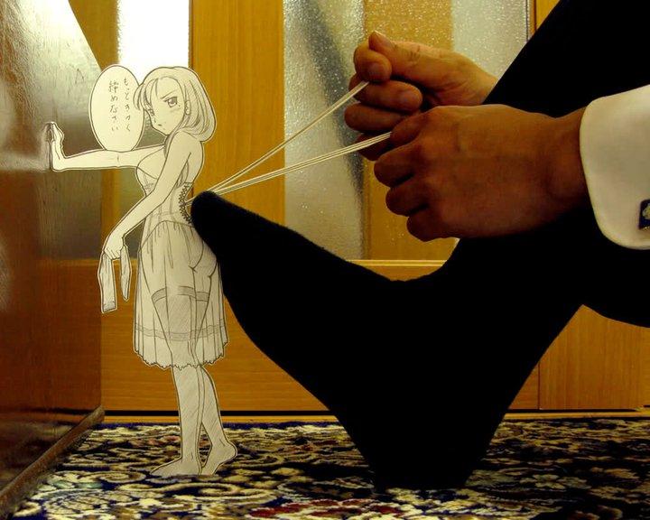Figuras Anime en papel. 224473_10150262339634819_213182229818_7273974_4863067_n