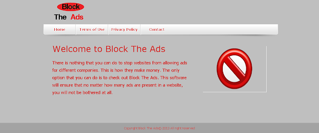 Block The Ads