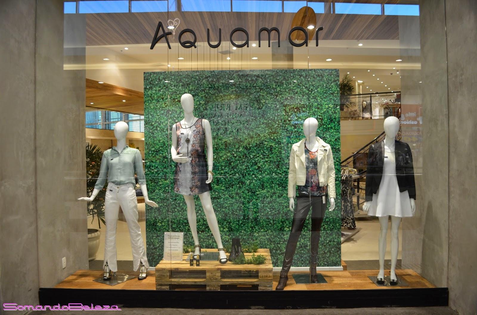 Aquamarrio,Loja feminina, Roupas