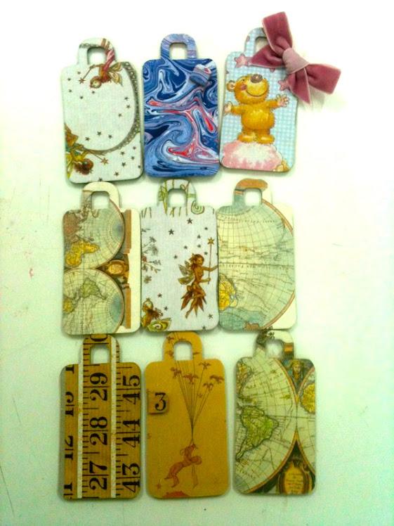 Etiquetas para tus maletas, tus cajas, cajones del armario...