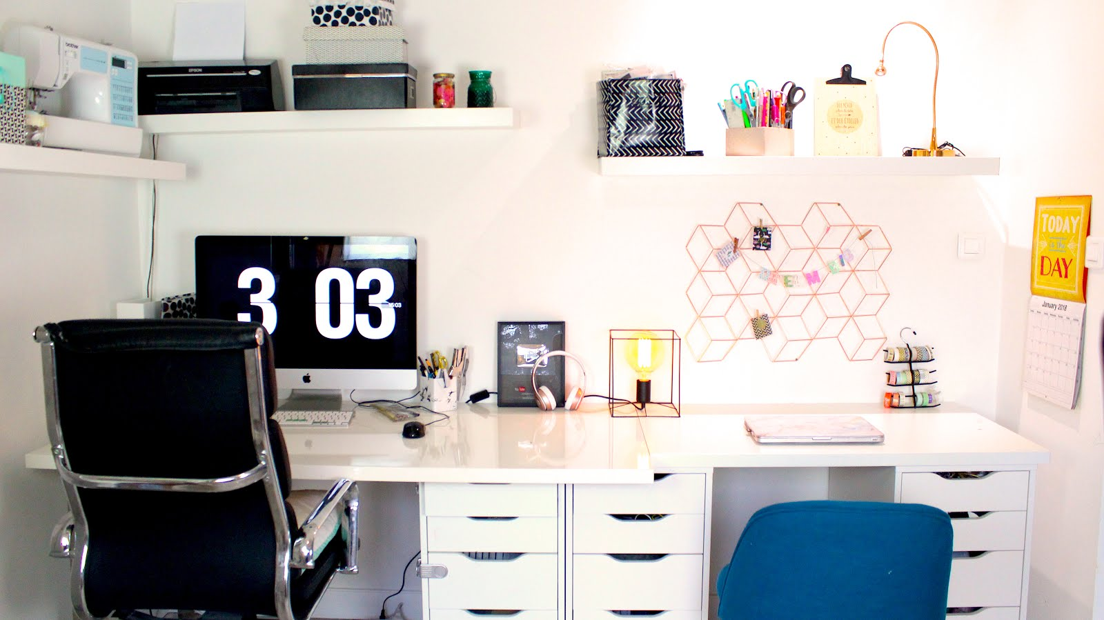 Relooker son bureau atelier petit budget diy do it