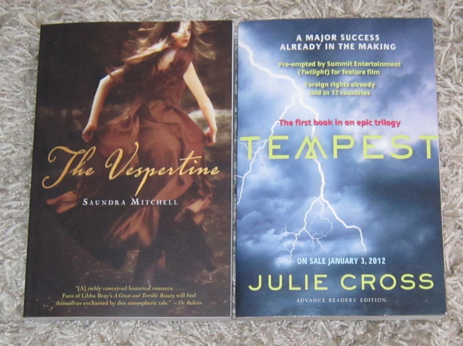 Pretty Book Cover Questions : Carina s books in my mailbox