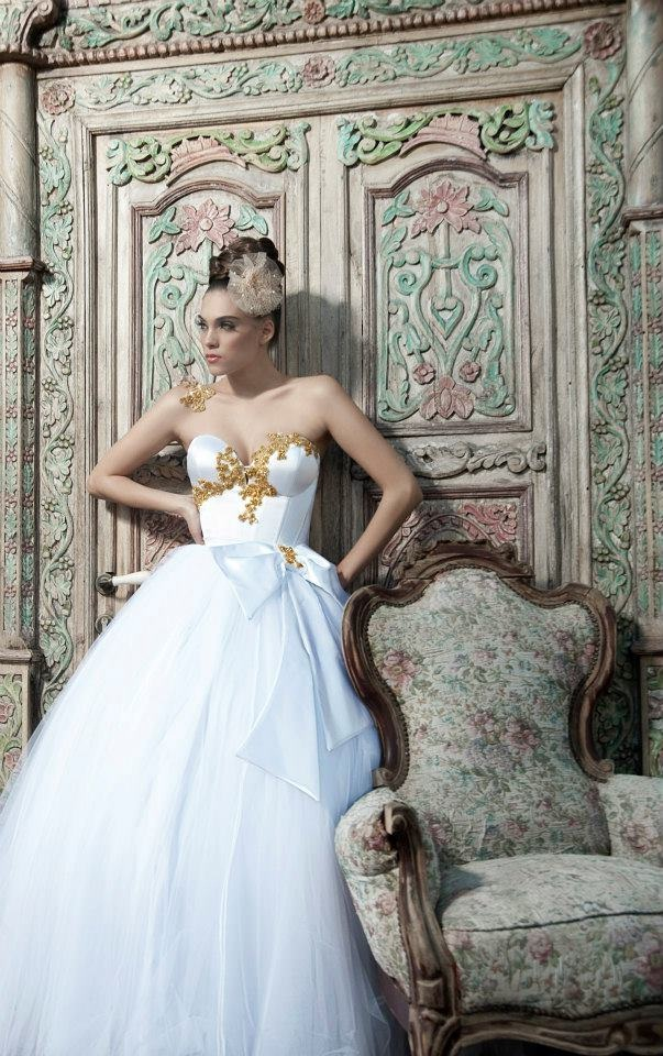 Nurit Hen Spring 2013 Bridal Collection