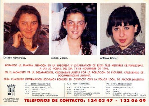 EL CRIMEN DE ALCÁSSER (COMUNIDAD)