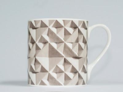 Geo mug by British designer Ella Doran