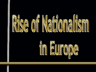 Notes on The Rise of Nationalism in Europe