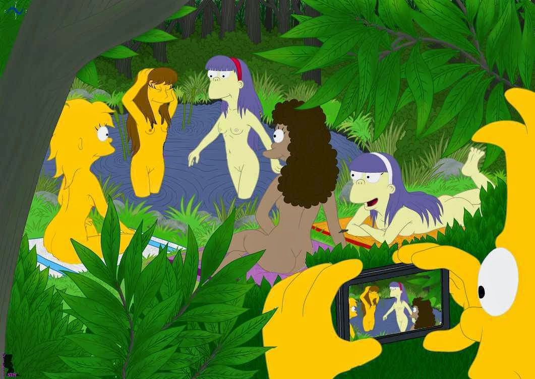 girls from the simpsons nude