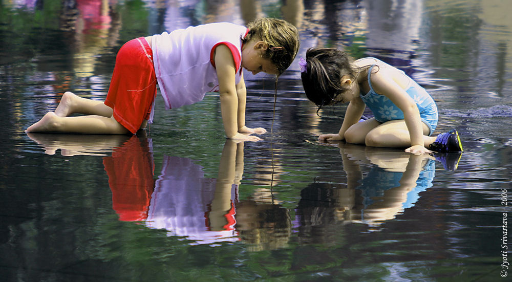 Public Art In Chicago Reflective Pools