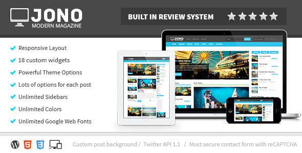 Download Jono v2.7 Responsive WordPress Magazine Theme Free