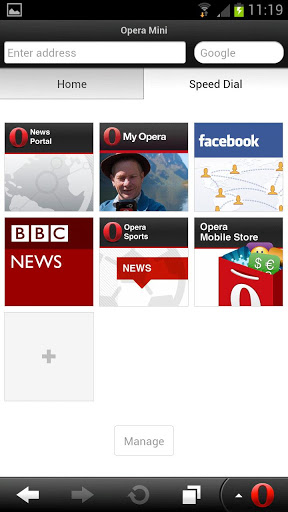 Opera Mini 7.5.1 Apk - Browser Tercepat Hp Android