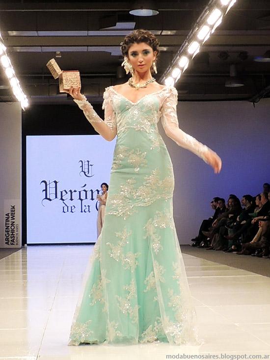 Veronica de la Canal vestidos de fiesta primavera verano 2015. Moda en el desfile Silkey primavera verano 2015.