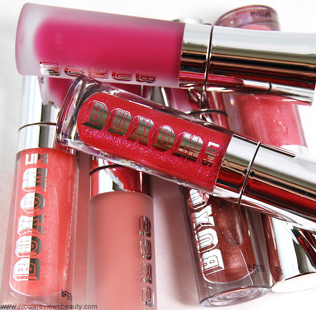 Buxom Time to Shine Lipgloss Set Big and Healthy Lip Polish Review and Swatches