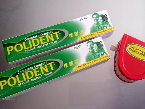 Polident Promotes Proper Denture Care