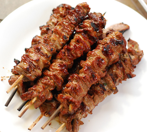 Bulgogi Skewers, different ribeye idea