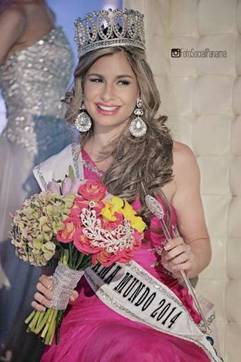 Miss Panama World Mundo 2014 winner Raiza Patricia Erlenbaugh Soriano