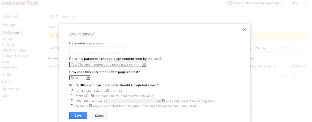 URL Parameters that change page content