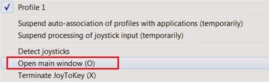 JoyToKey XBMC