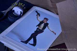 selbst genähntes Han Solo Kostüm