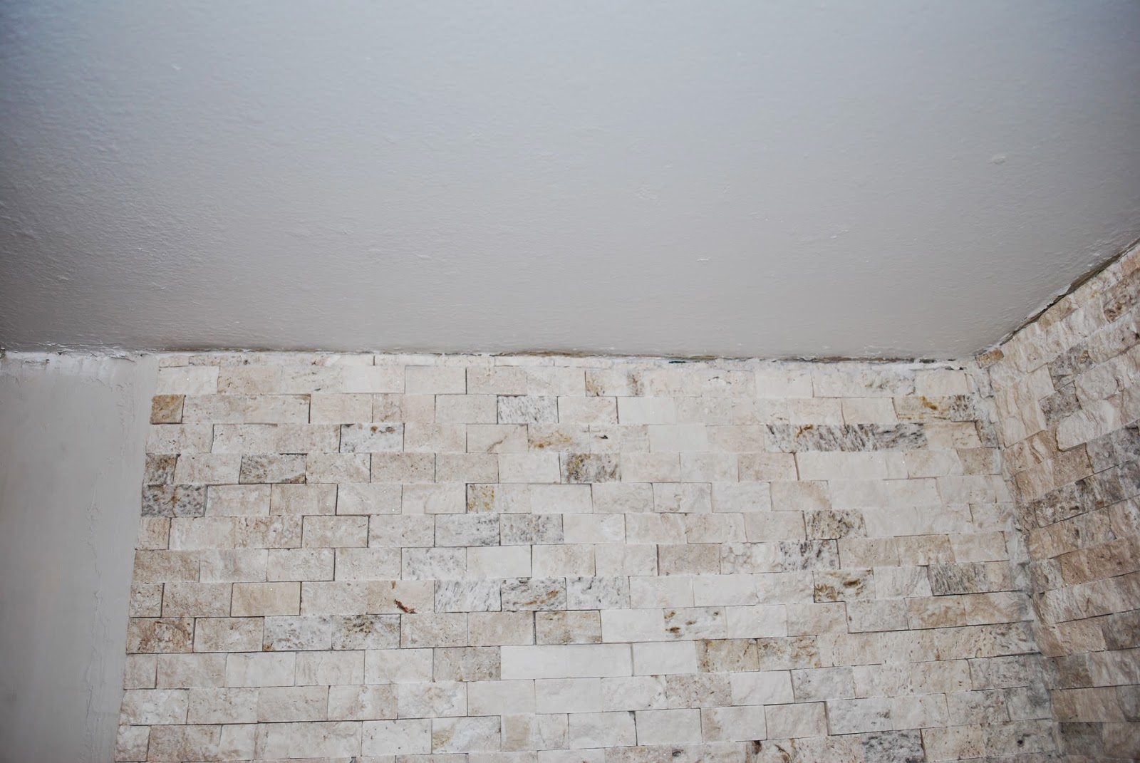 install stacked stone tile