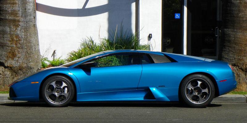 California Streets Sacramento Street Sighting 2003 Lamborghini